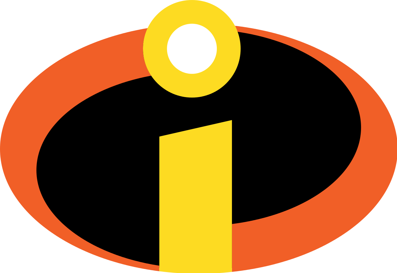 File from the incredibles. Movie clipart movie symbol