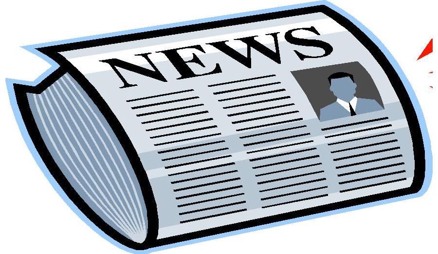 Forest lutheran newletterpng html. Newsletter clipart newspaper