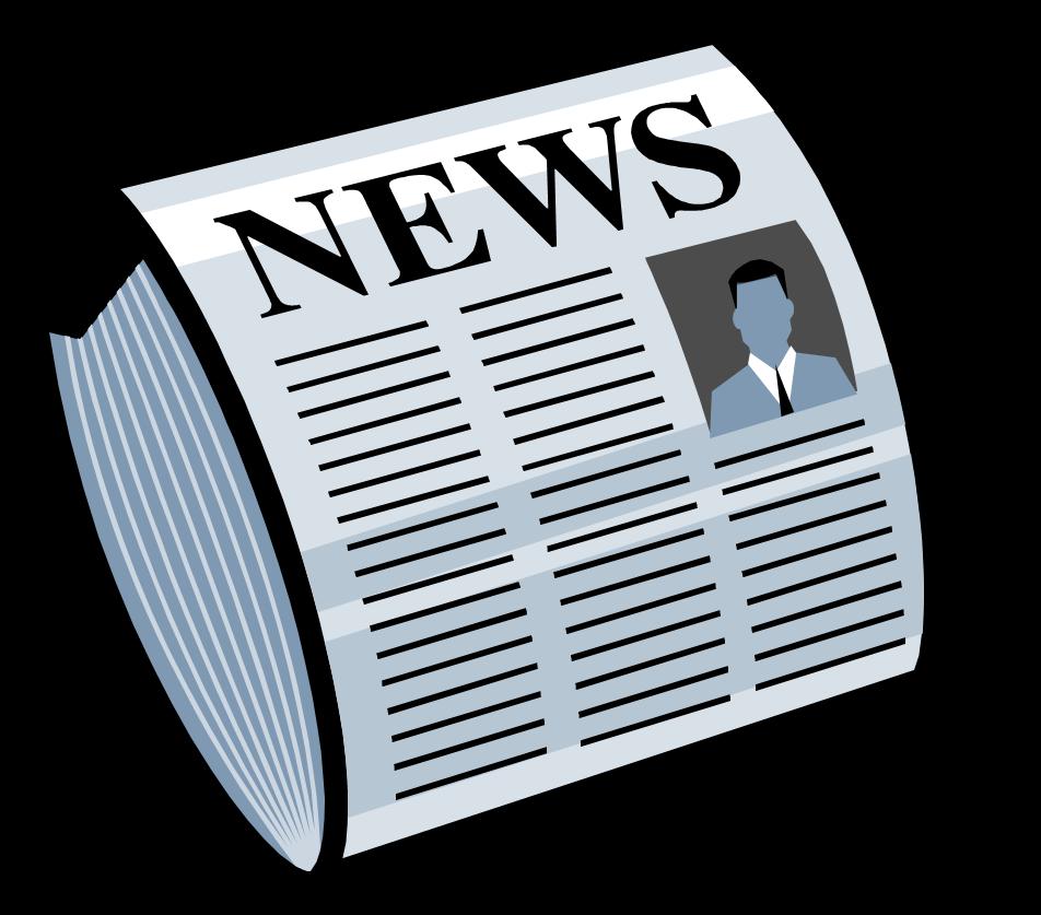 Mcpr newspaper. News clipart newpaper