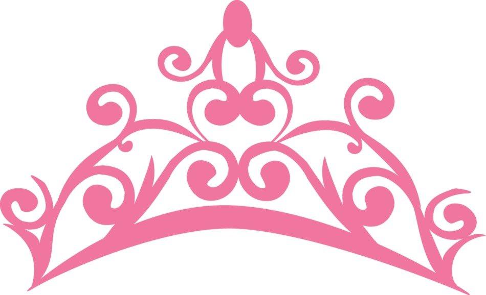 Princess clipart logo. Pink crowns panda free