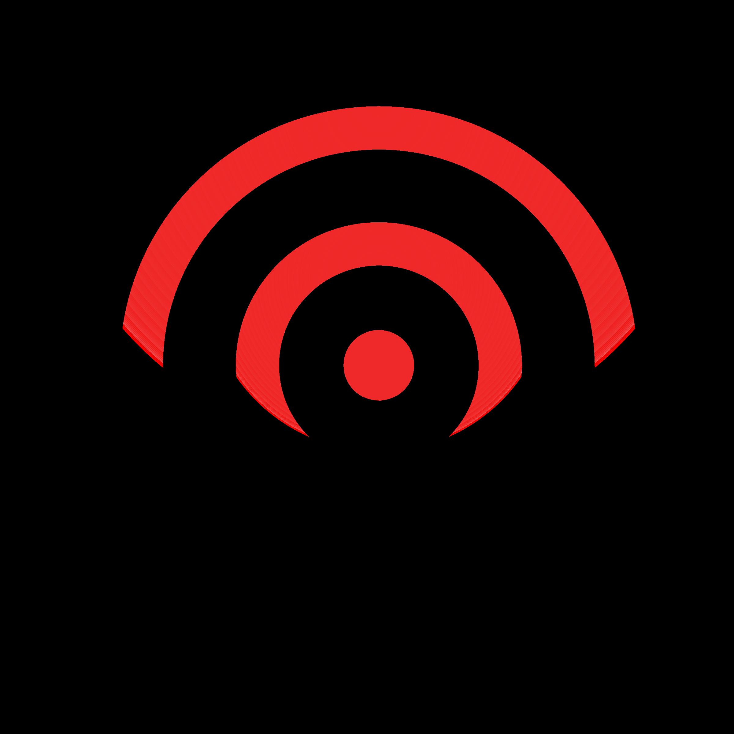 Network wireless clean big. Logo clipart reception