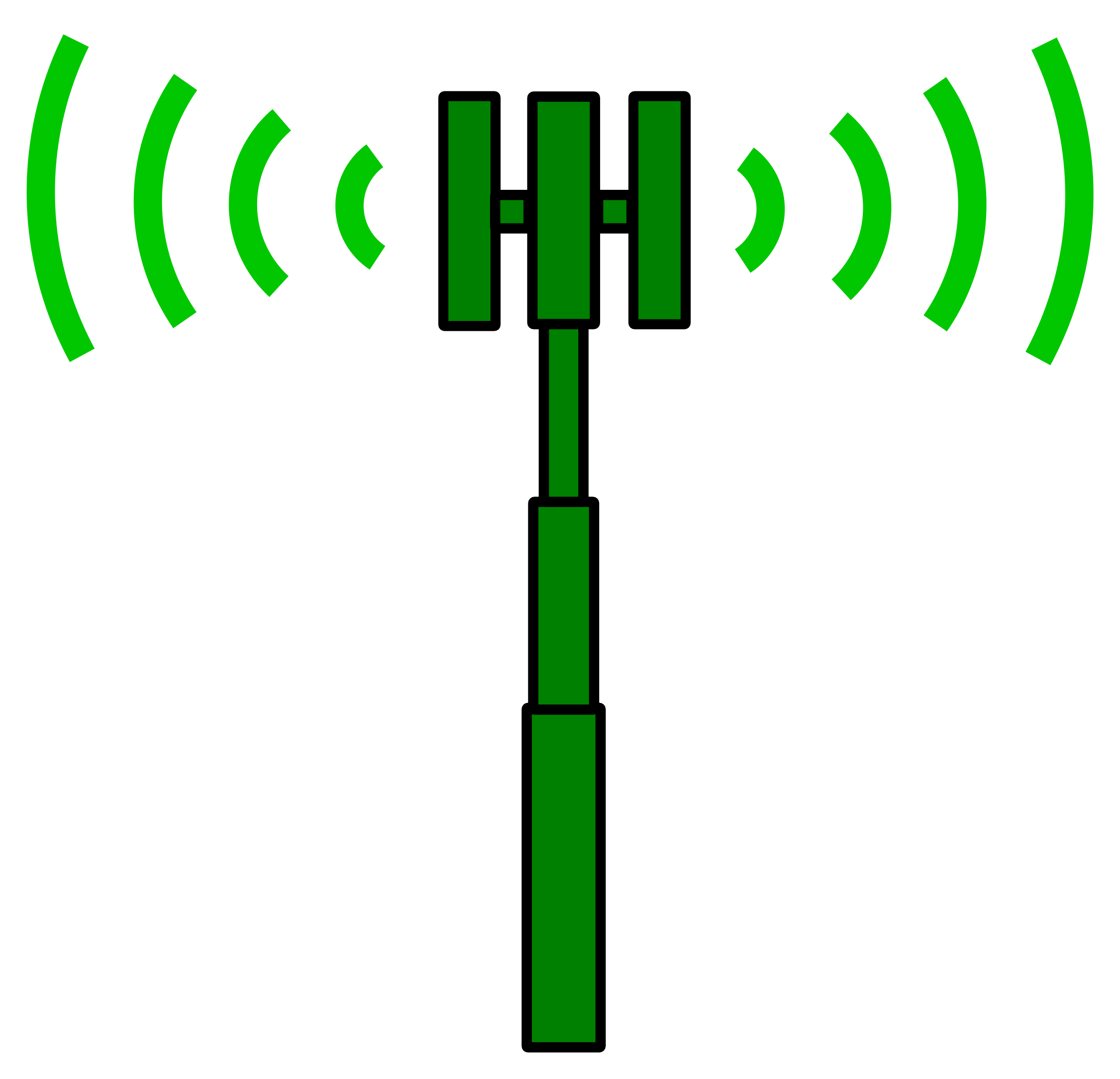 Logo clipart reception. Cell site transmitter big