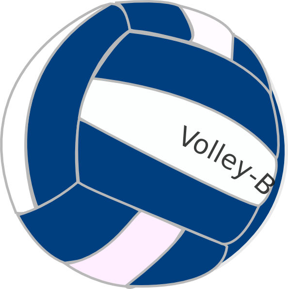 logo clipart volleyball