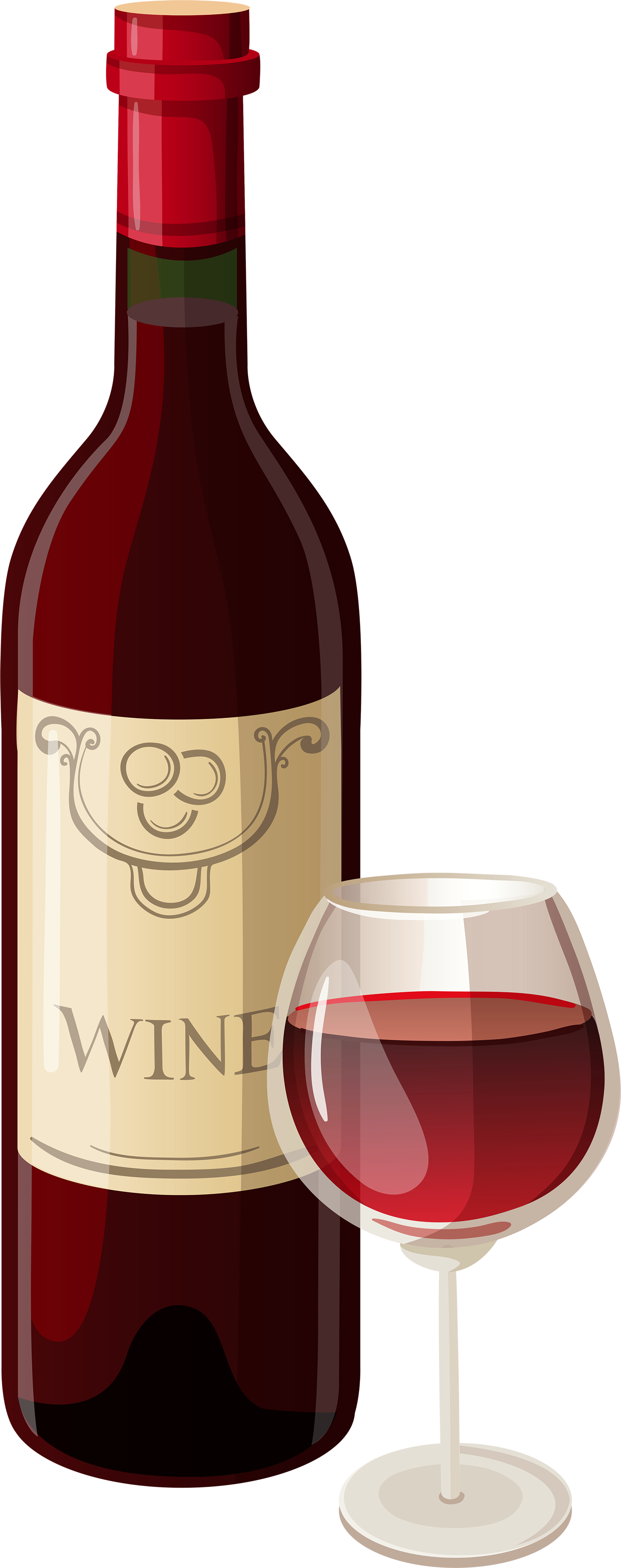 Images free download image. Wine bottle and glass png