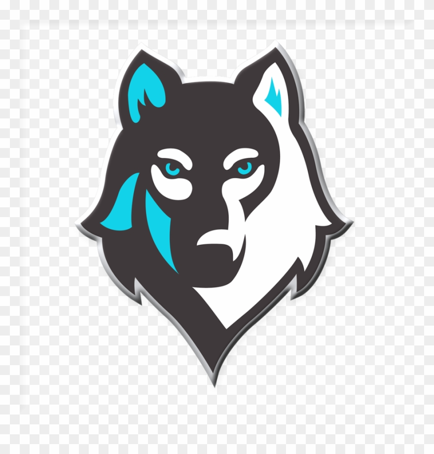 Wolf clipart logo. Download mascot png clip