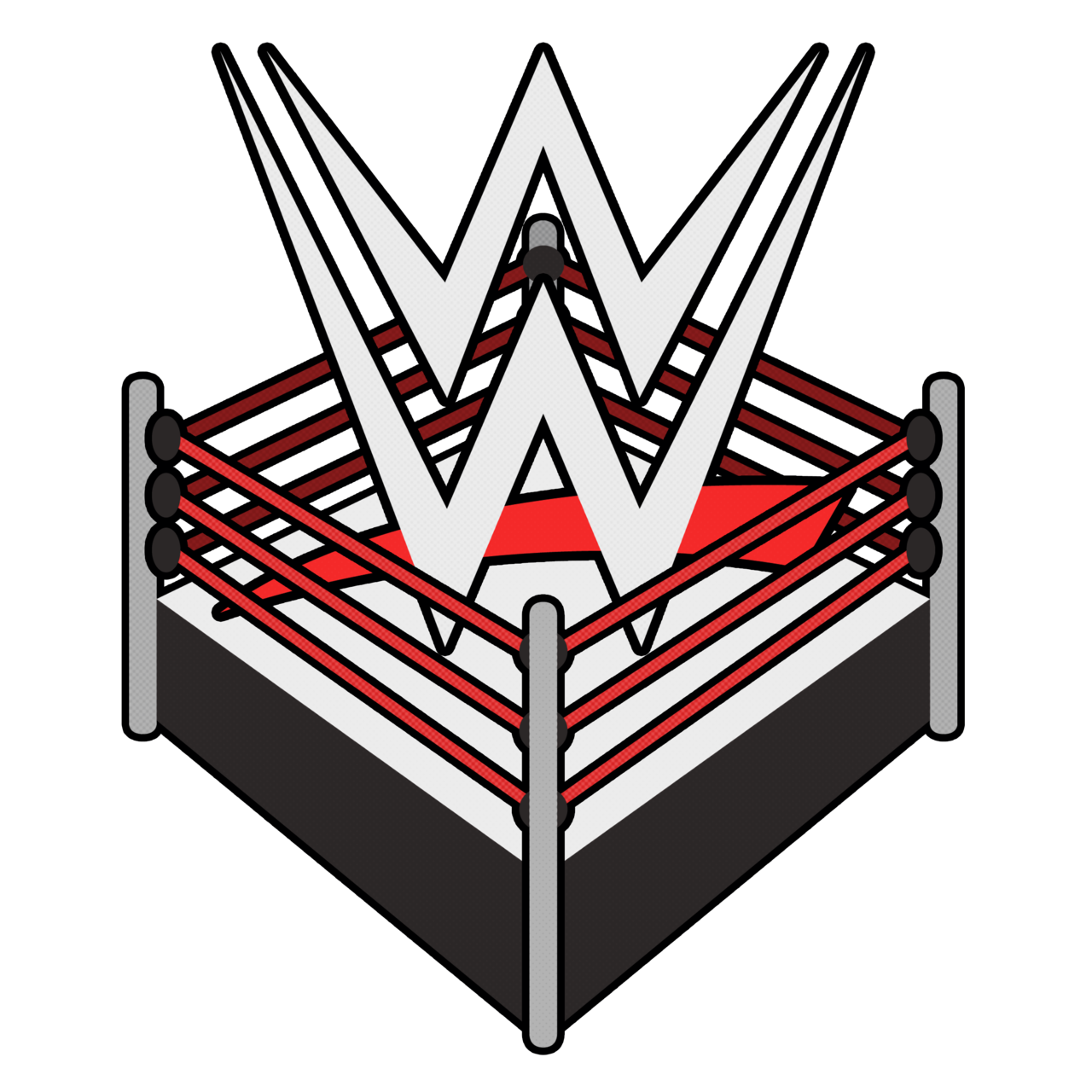 Wwe logo png free. Wrestlers clipart transparent background