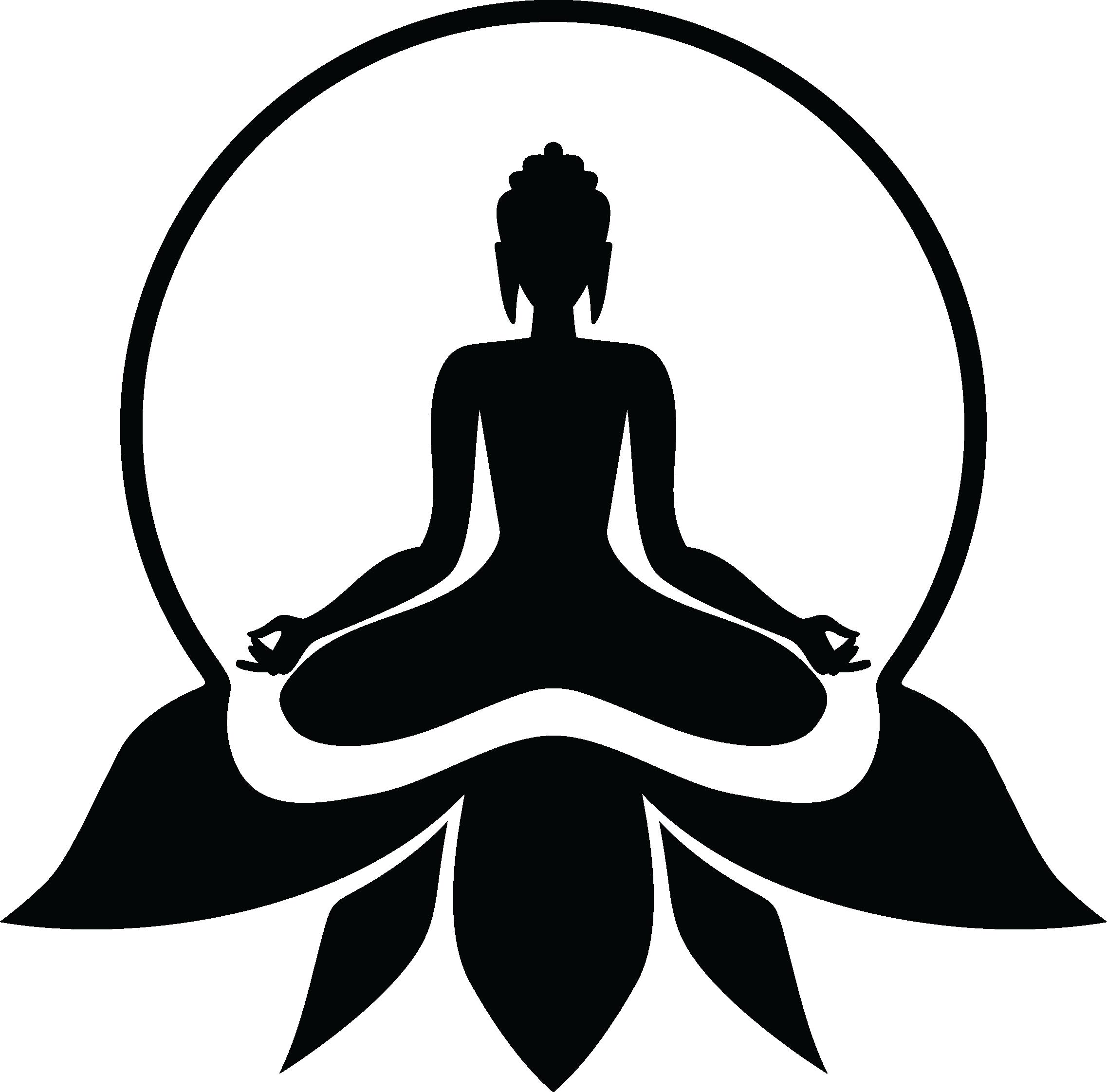 Pin by hun ter. Logo clipart yoga