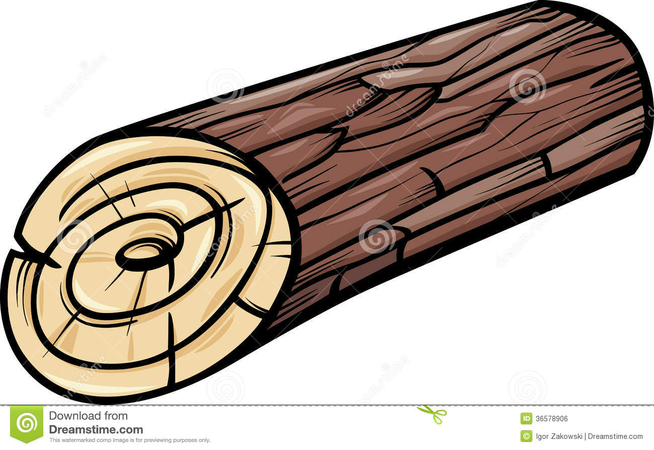 Free . Logs clipart