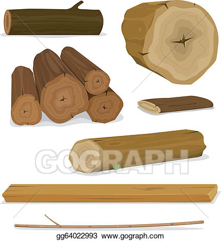 Logs clipart. Clip art royalty free