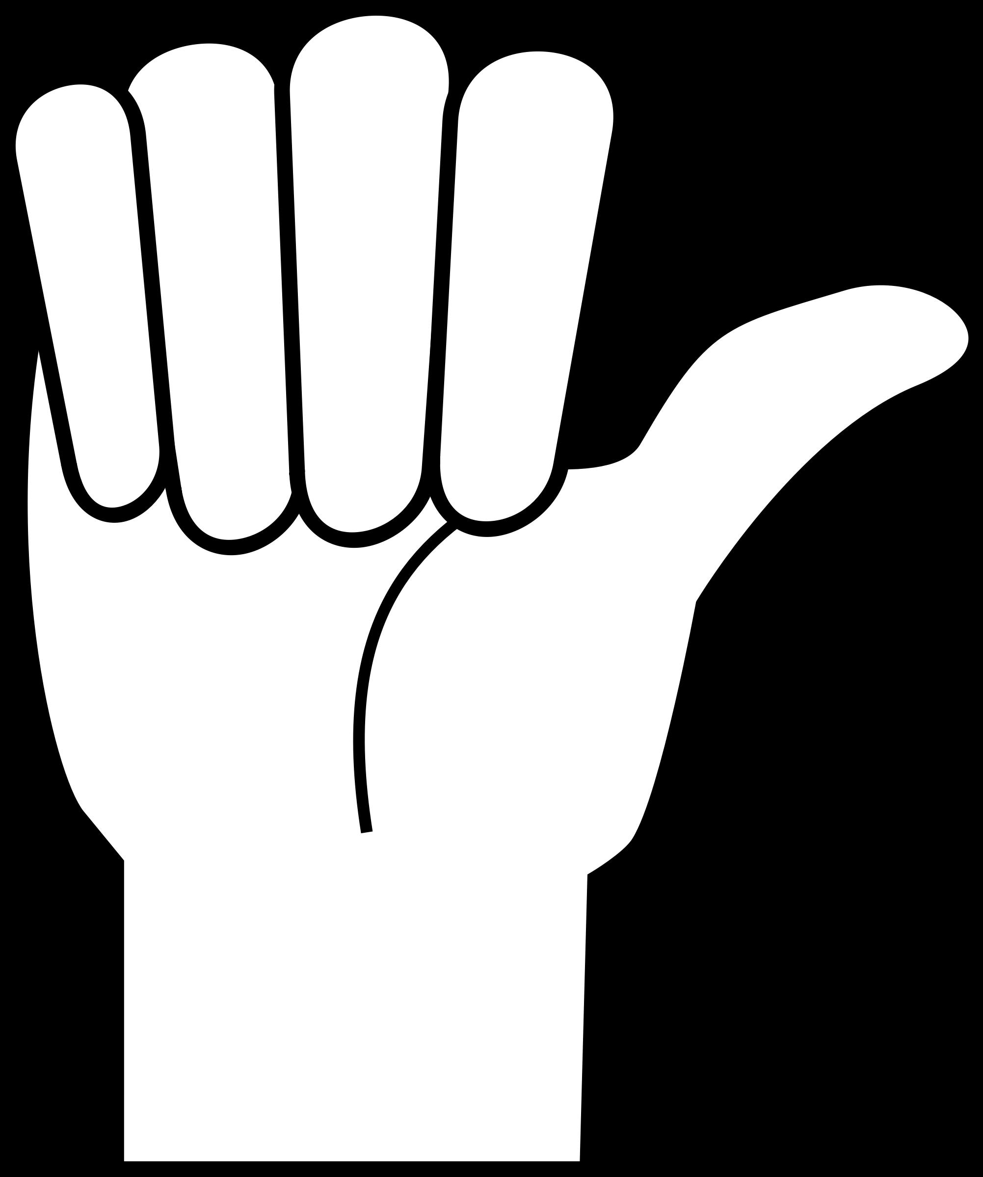 Thumb clipart hitchhiker's thumb. Hitching hand big image