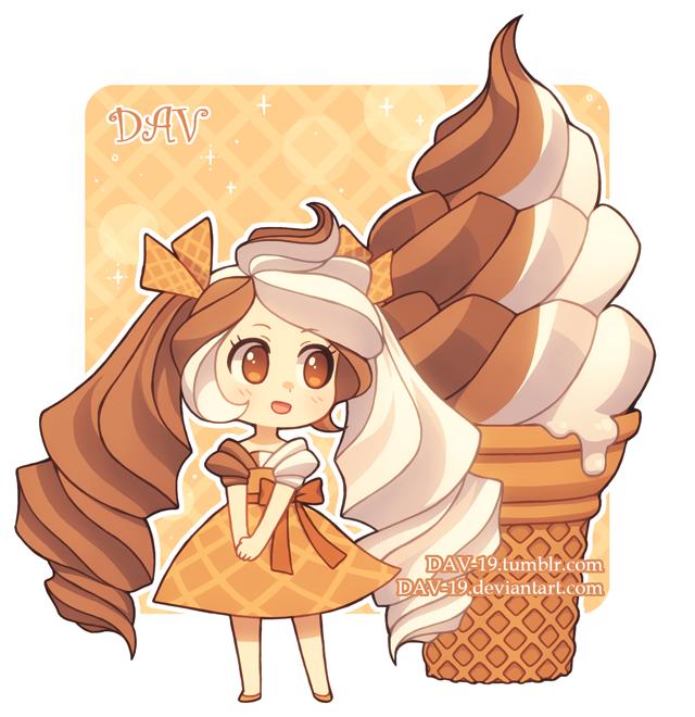 Soft Serve Ice Cream by DAV