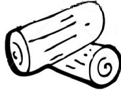 Logs clipart outline. Free log cliparts download