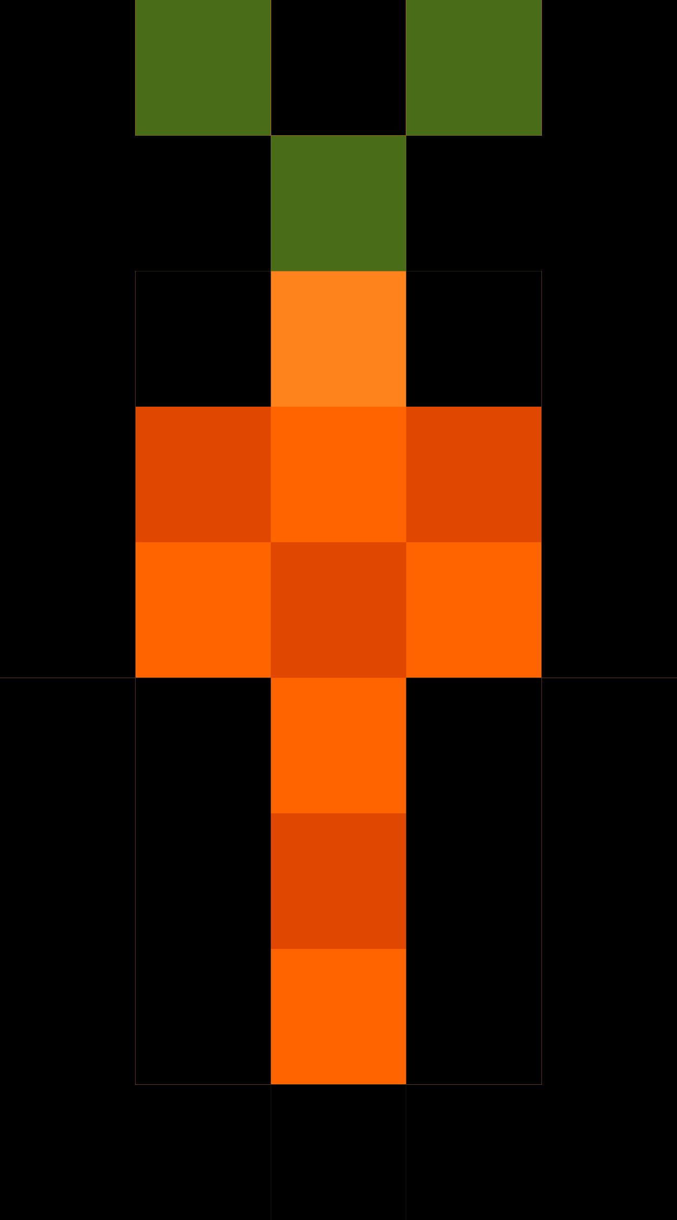 Logs clipart pixel. Carrot