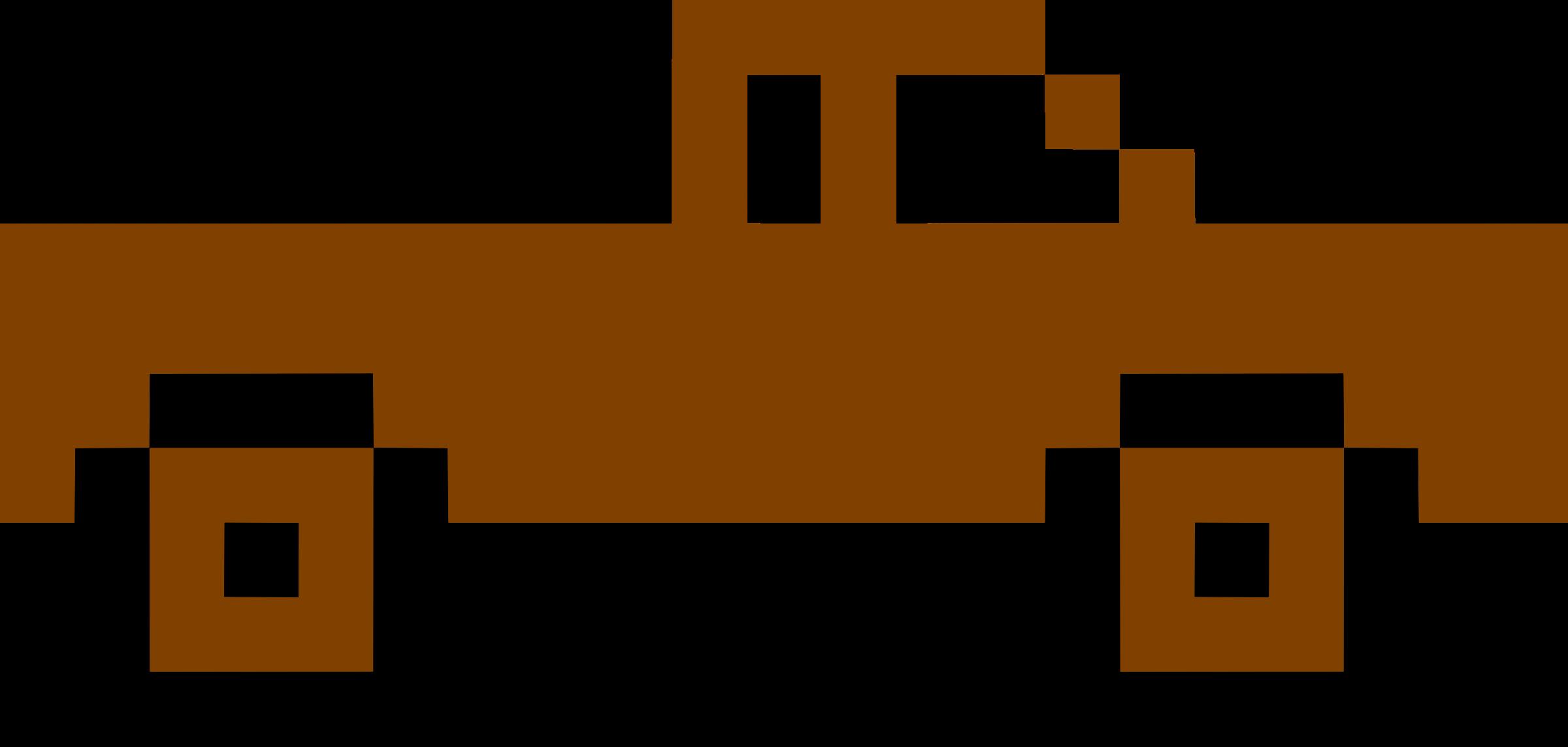 Logs clipart pixel. Art truck big image