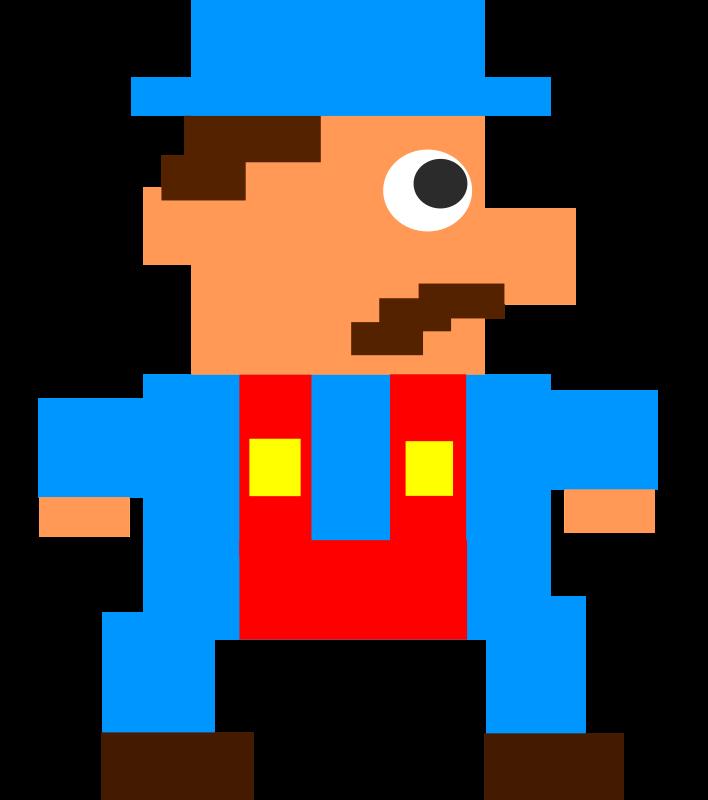 Guy medium image png. Logs clipart pixel
