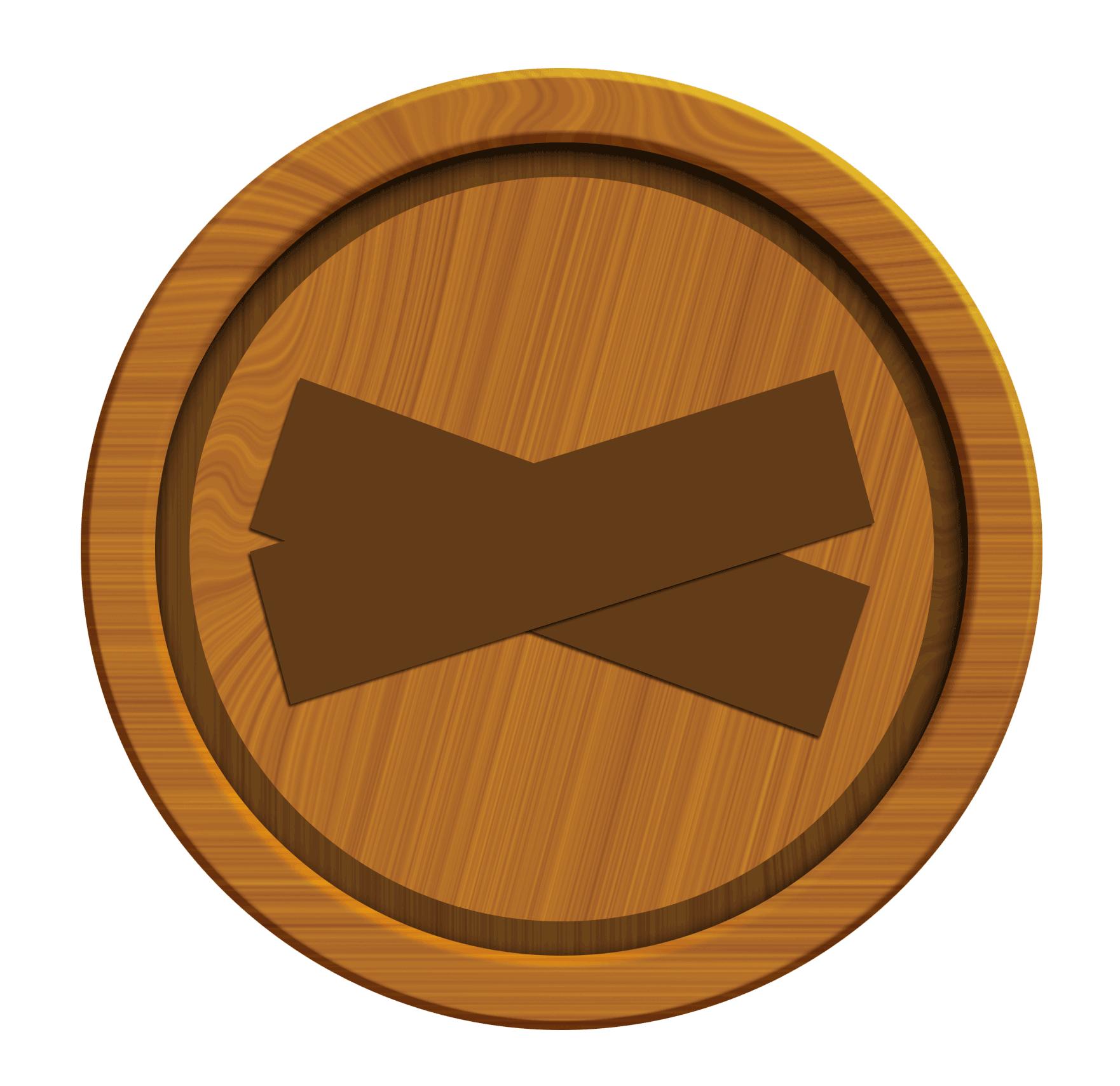 Logs clipart timber. Hiram wood