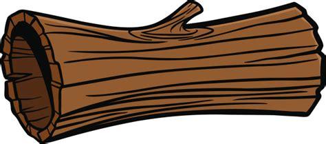 Cartoon log falcones . Logs clipart timber