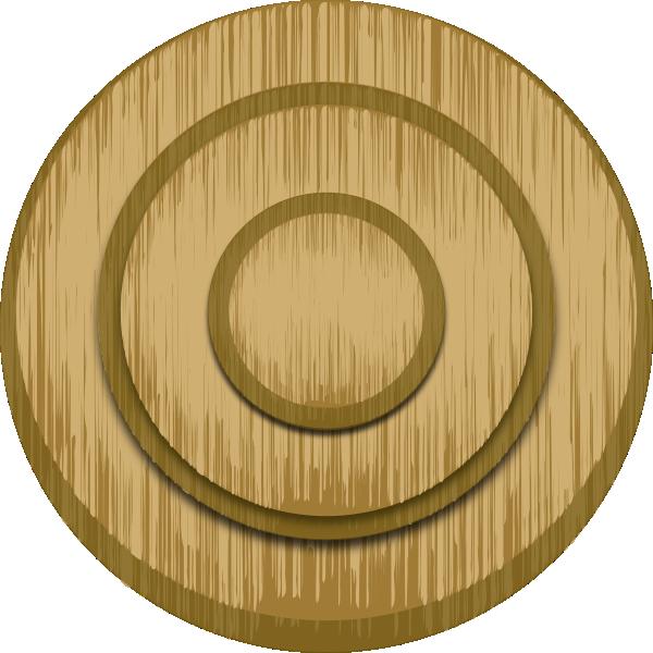 Target clip art at. Logs clipart wood