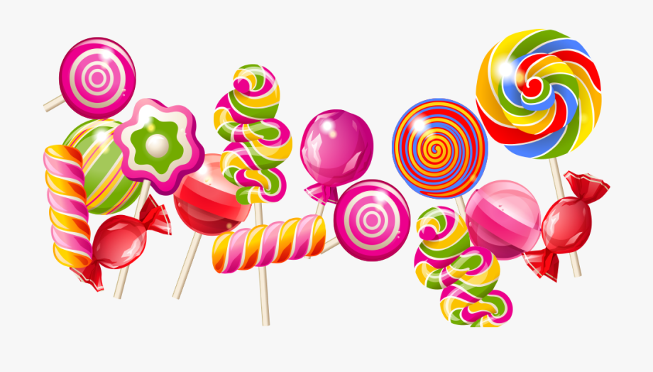 Png free photo . Lollipop clipart cake candy