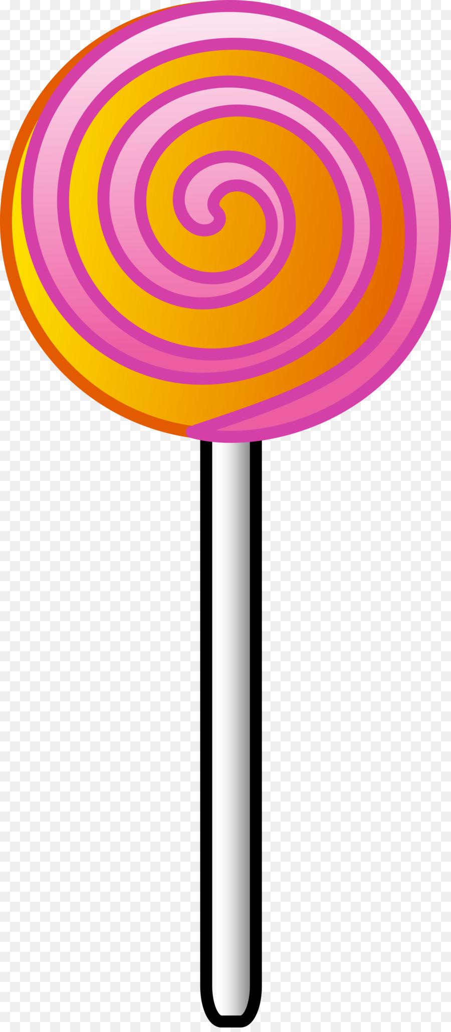Cartoon candy . Lollipop clipart circle