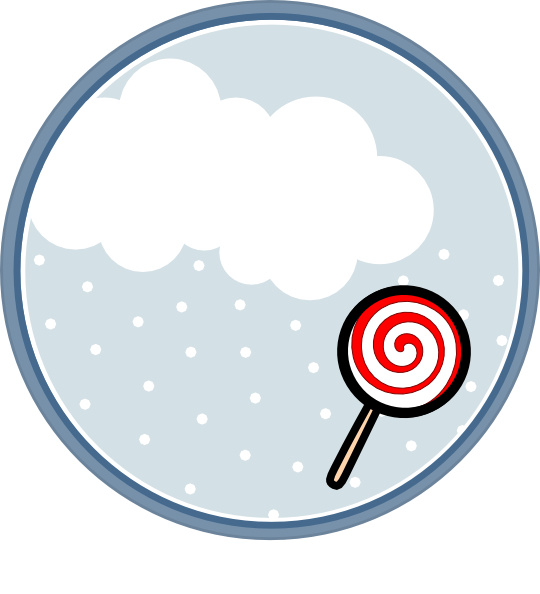 Clip art at clker. Lollipop clipart circle