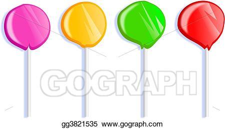 Drawing lollipops gg gograph. Lollipop clipart colourful