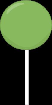 X free clip art. Lollipop clipart green