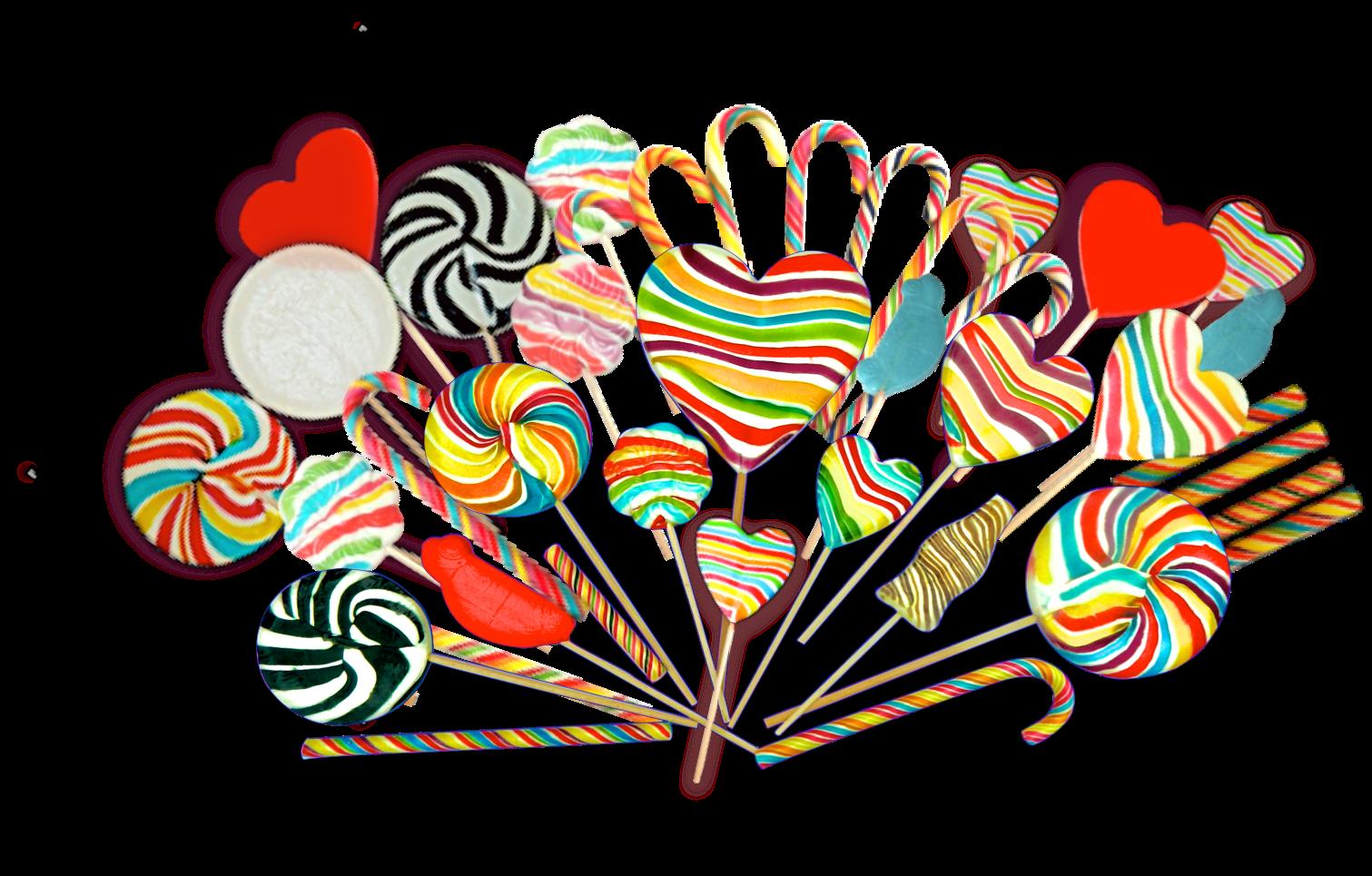 Lollipop clipart heart shaped lollipop. Lollipops and candy cane