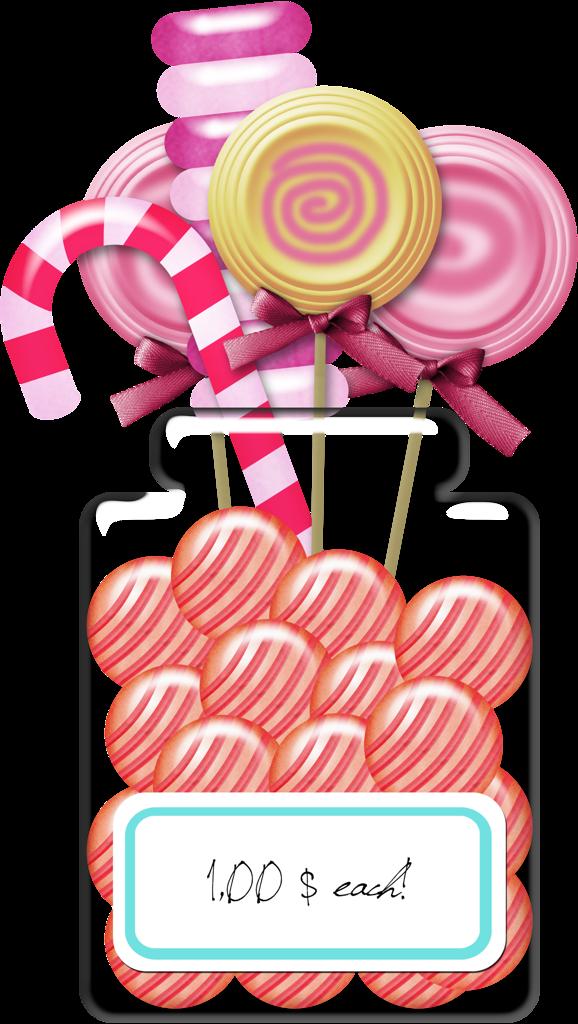 Lollipop clipart jar. Caramel clip art painting
