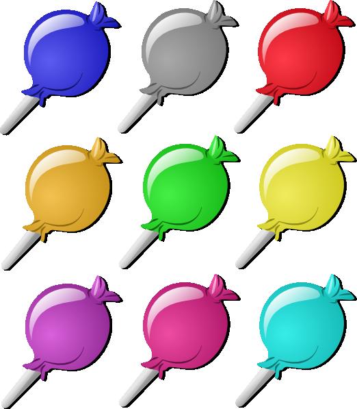 Lollipops clip art at. Marbles clipart cartoon