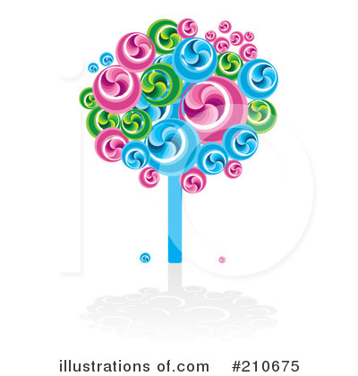 Illustration by toonaday . Lollipop clipart lollipop tree