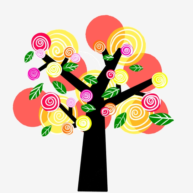 Png vector psd and. Lollipop clipart lollipop tree
