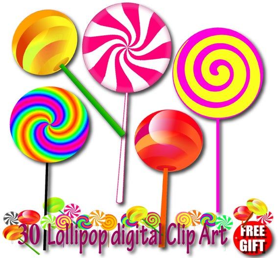 Lollipop clipart many candy. Chocolate invitation lollipops sticks