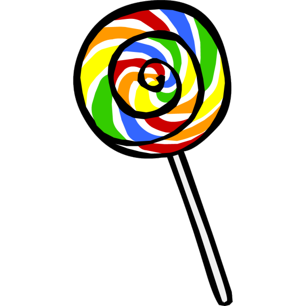 Lollipop clipart many candy. Clip art transprent png