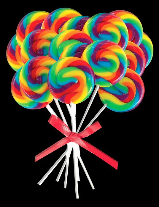 De colores renders y. Lollipop clipart paletas