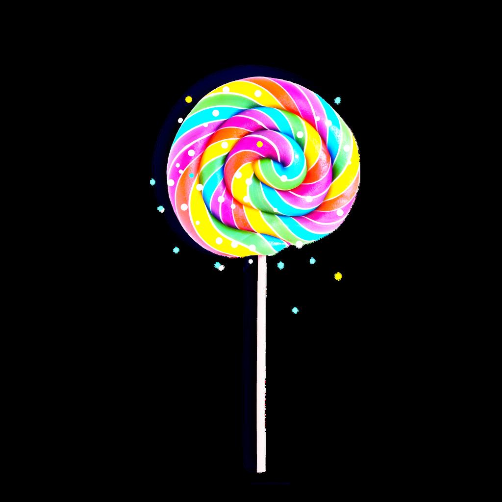 Paleta de caramelo . Lollipop clipart paletas