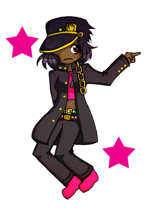 Lollipop clipart pull. Jojo pose by harajuku