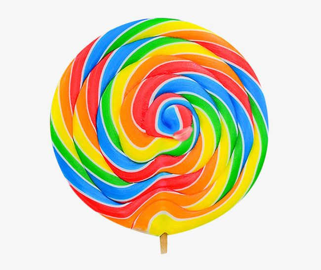 Large real oversized . Lollipop clipart rainbow lollipop