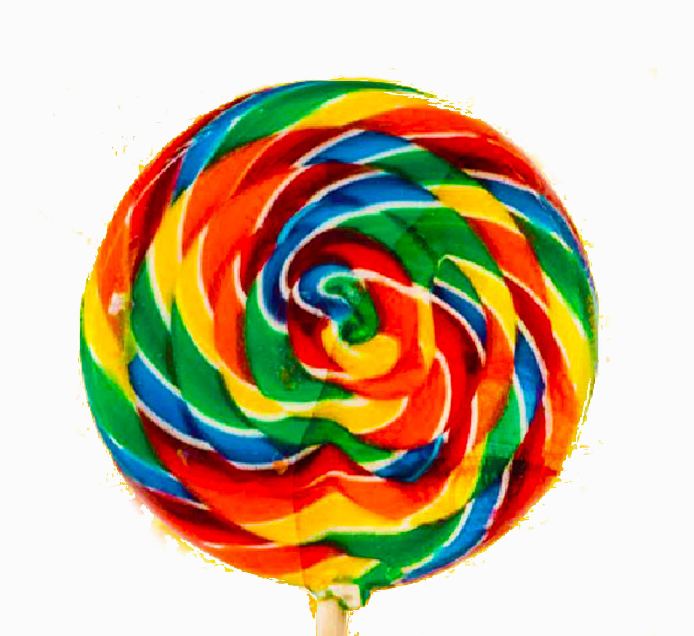 Swirl clip art n. Lollipop clipart rainbow lollipop