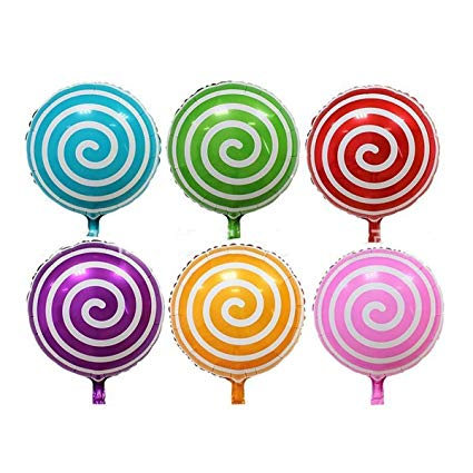 Lollipop clipart round thing. Annodeel pcs sweet candy