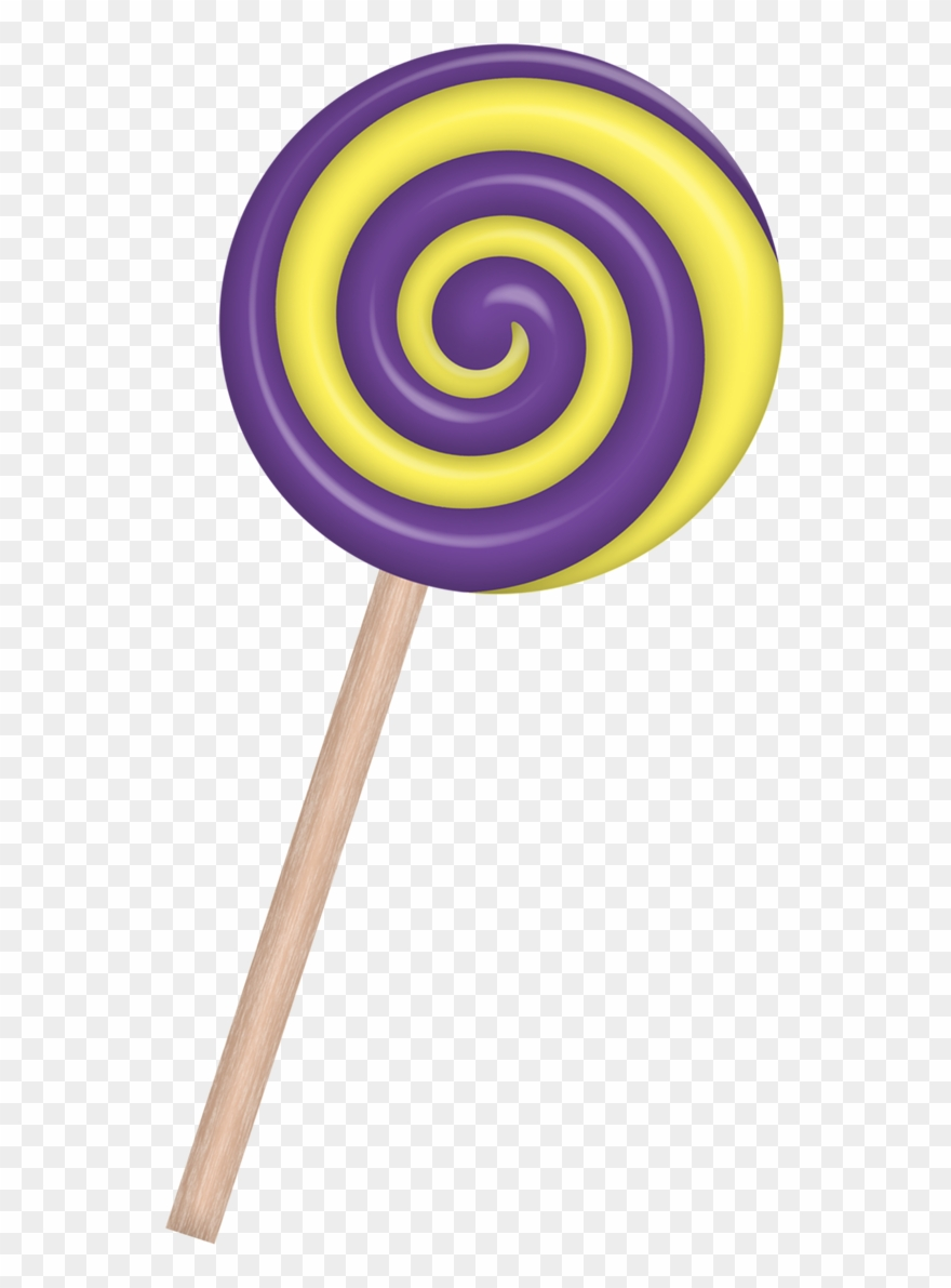 Lollipop clipart small. Candy lollipops drawing easy
