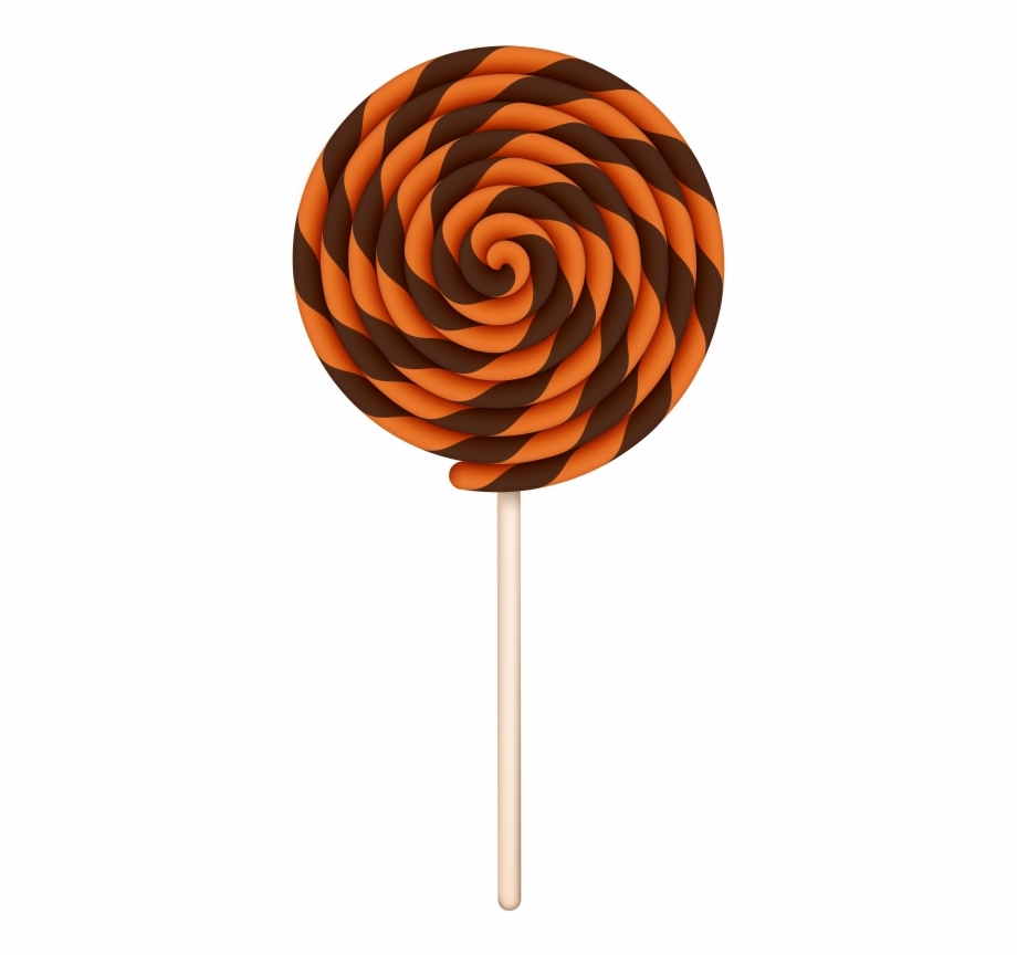 Halloween candy free transparent. Lollipop clipart swirl lollipop