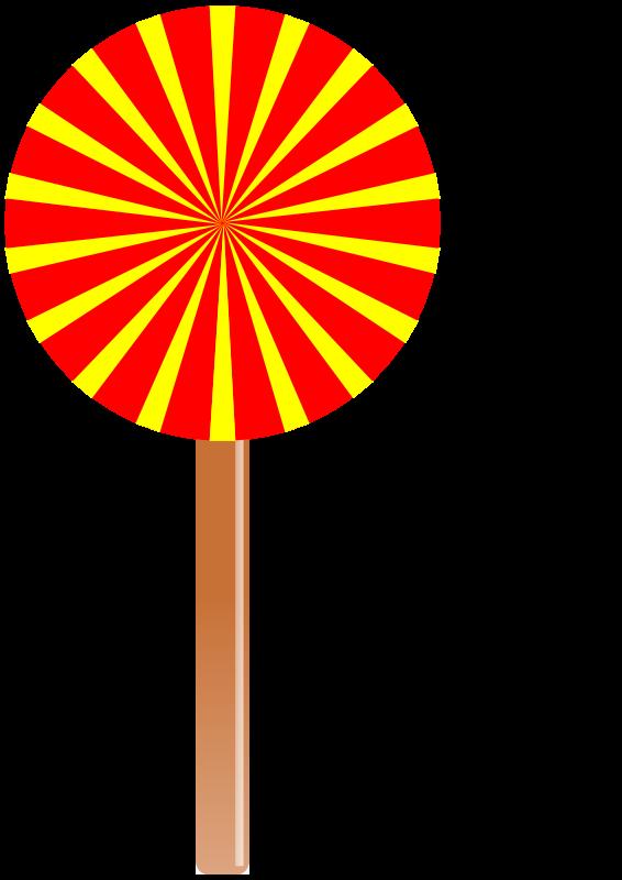 Lollipop clipart two. Free stock photo illustration