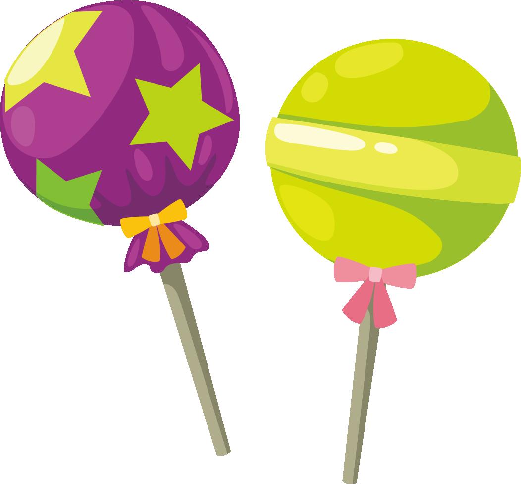 Candy cartoon transprent png. Lollipop clipart watercolor
