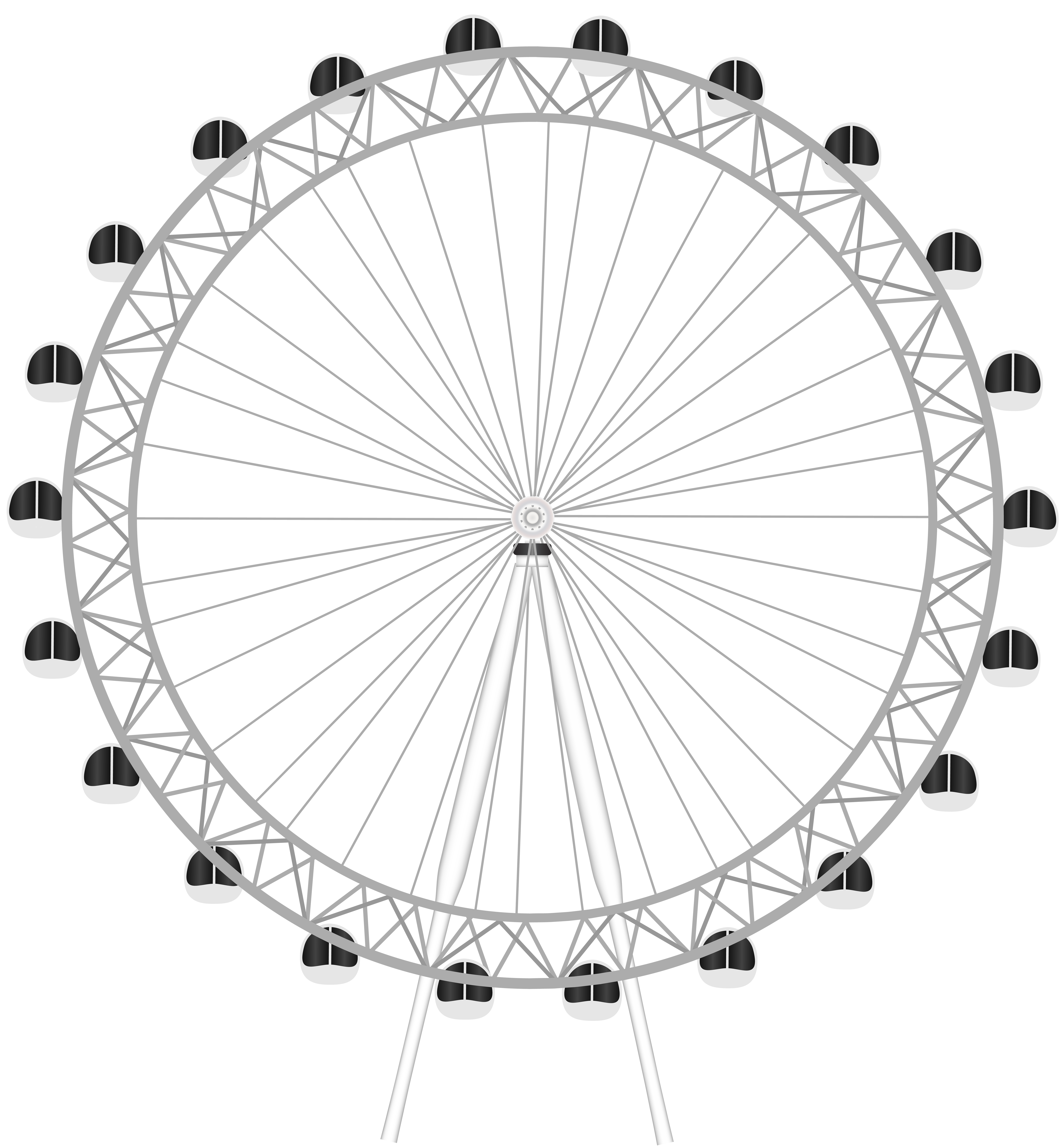 London clipart black and white. Eye png clip art