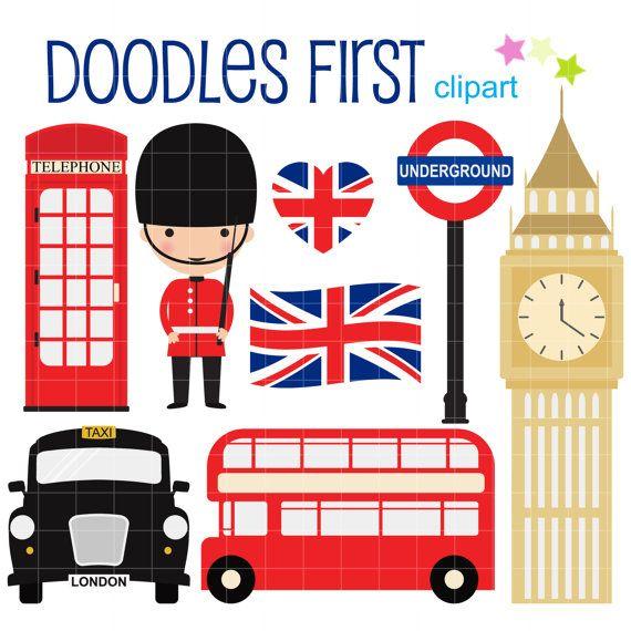 London clipart cute. Free cartoon cliparts download