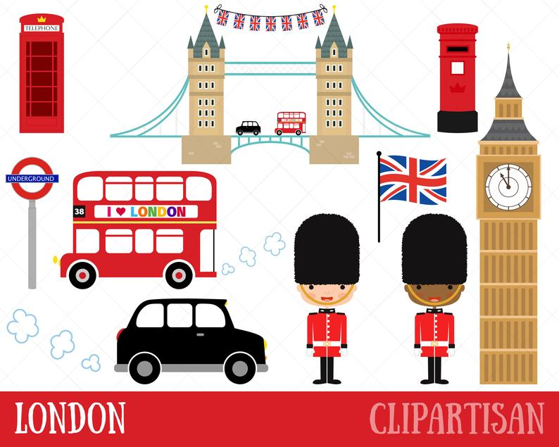 British . London clipart england clipart