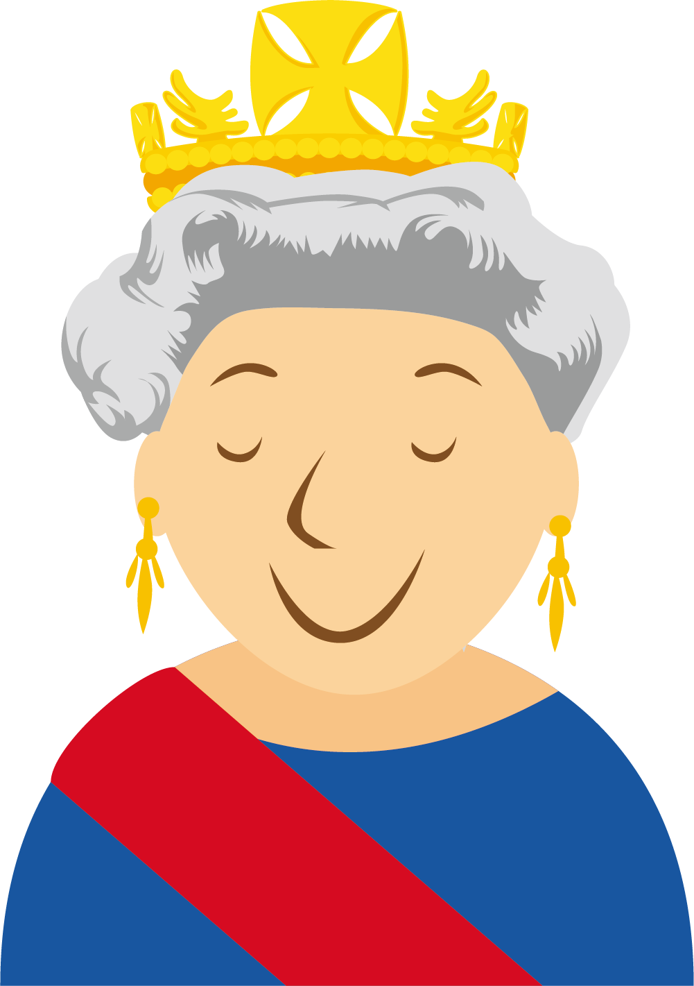Queen clipart happy king. London cartoon clip art