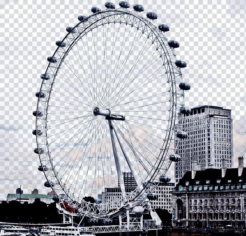 Ferriswheel surrounded by buildings. London clipart ferris wheel london