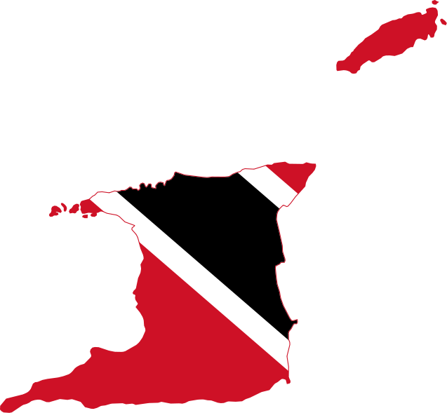 Trinidad and tobago maps. London clipart flag